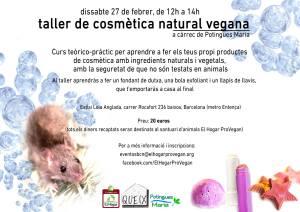 Cartell cosmètica natural català