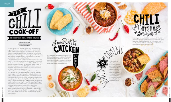 Chili Cook-Off Styled by Quelcy for TABLE Magazine // www.Quelcy.com