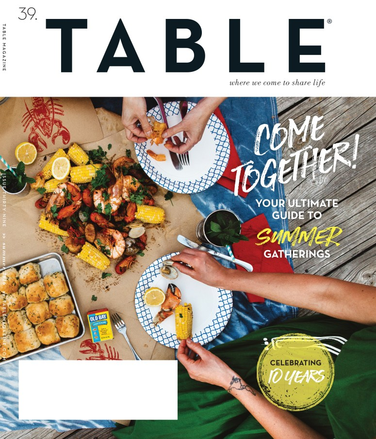 Styling A Seafood Boil & The Cover of @TABLEMagazine