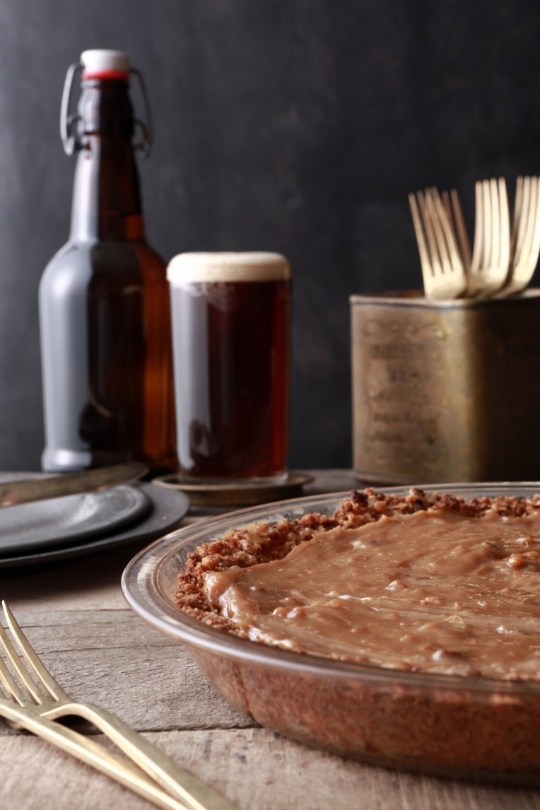Caramel Pie Baked and Styled by Quelcy