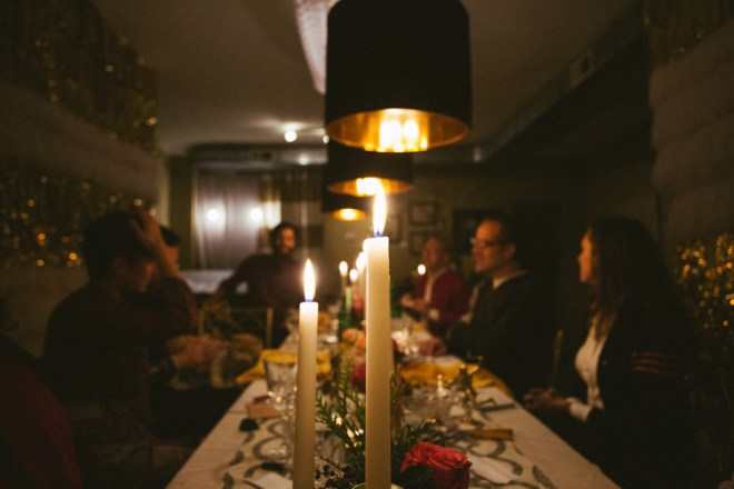 A Harvest & Gather Thanksgiving // www.Quelcy.com