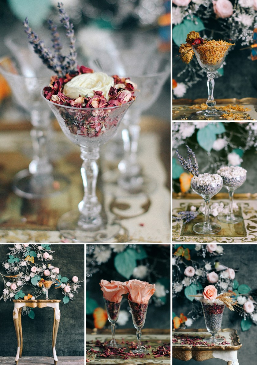 Styling for Roxanne's Dried Flowers by Quelcy // www.Quelcy.com
