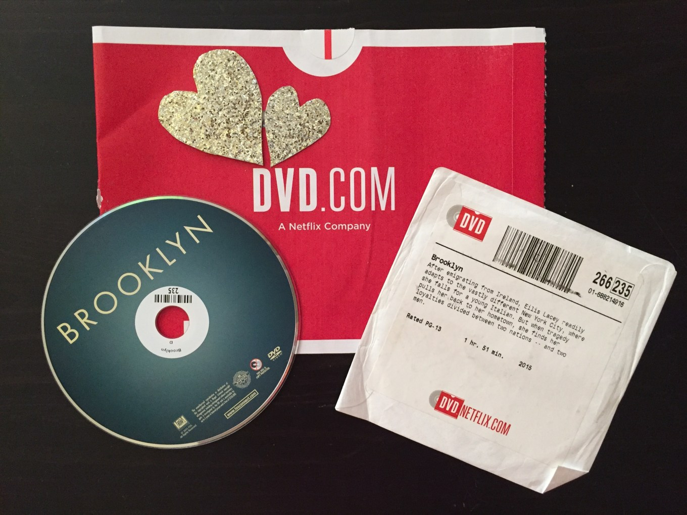 DVD Netflix Brooklyn