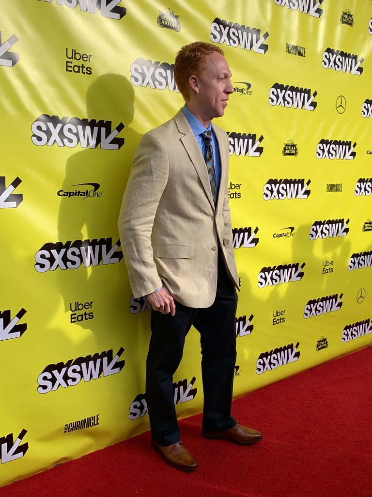 Ricardo Matallana at the SXSW red carpet premiere of The Beach Bum.