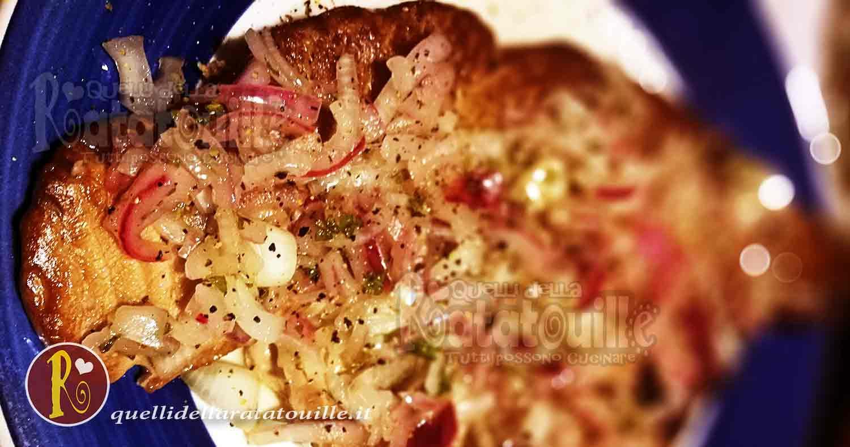 tonno arrosto con cipolla