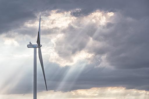 Photo d'illustration de parc éolien pour ENGIE