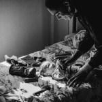 Reportage photo noir et blanc à domicile dans la Marne