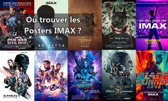 Ou trouver les posters IMAX