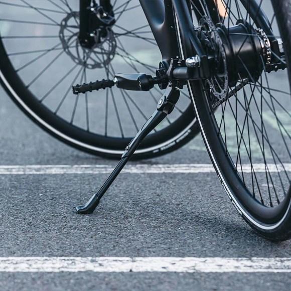 Angell, smart bike, vue arrière avec sa béquille