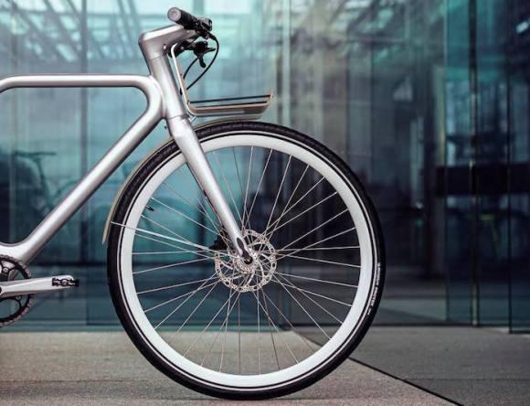 Angell vélo electrique connecté roue avant