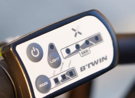 BTWIN Tilt 500 E vélo électrique pliant de Decathlon,, display