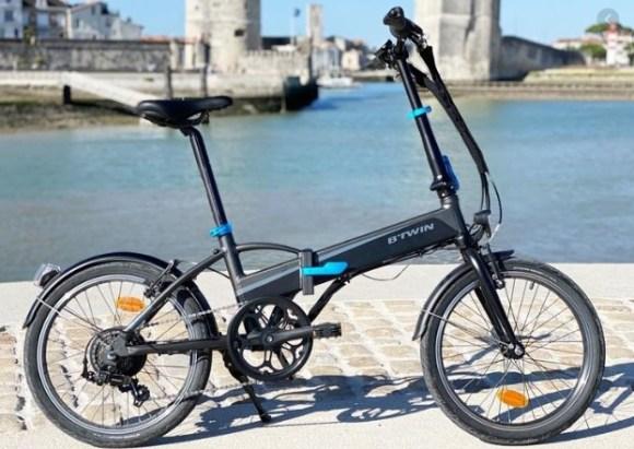 BTWIN vélo électrique pliant