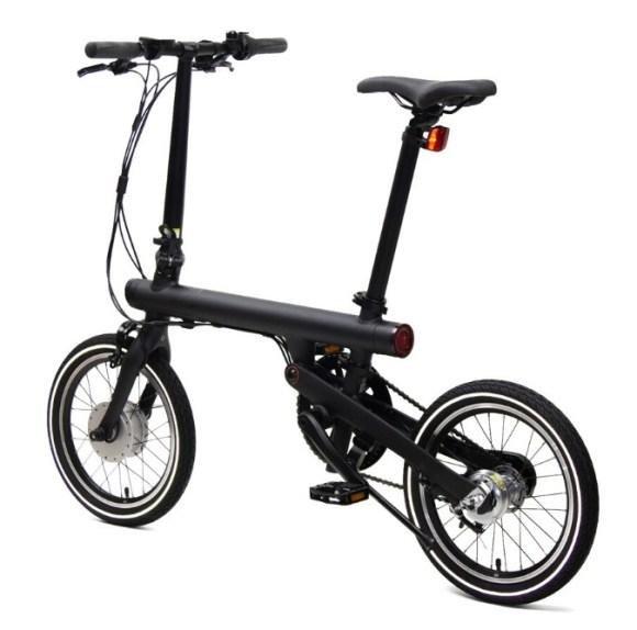 Xiaomi Mi Smart vélo électrique pliant profil arrière