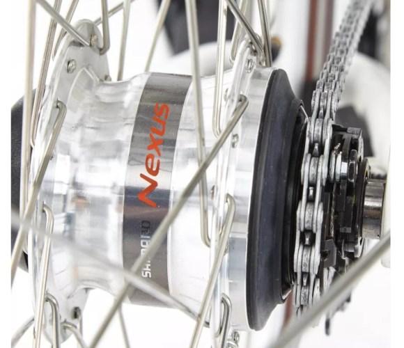 Elops 920 E VAE vélo électrique de ville DECATHLON transmission Nexus