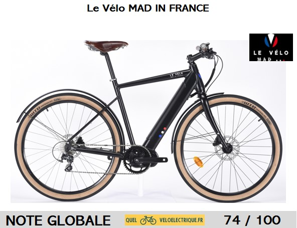 VELO MAD IN FRANCE Couverture