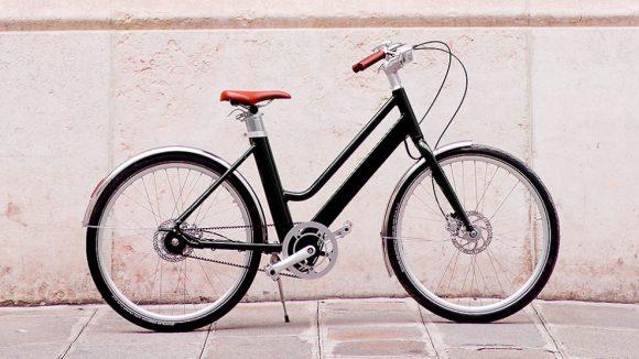 Vélo voltaire couleur noire