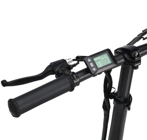 Revoe vélo electrique pliant display guidon