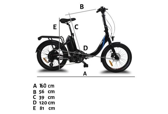 URBANBIKER Mini vélo pliant photo 3