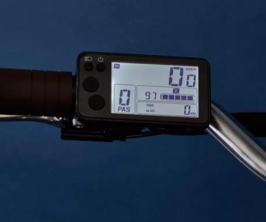 Vélo électrique Ville Decathlon Elops 900 E cadre haut photo 2