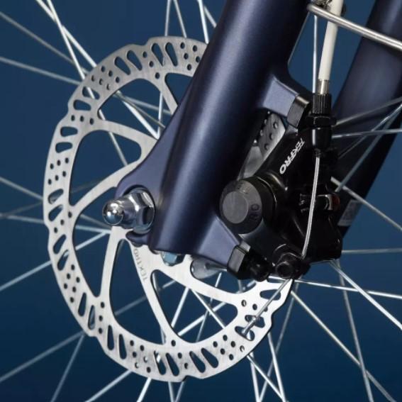 Vélo électrique Ville Decathlon Elops 900 E cadre haut photo 4