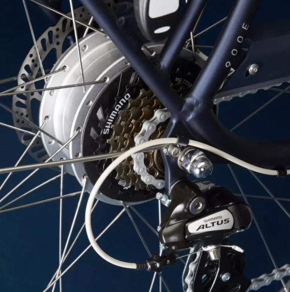 Vélo électrique Ville Decathlon Elops 900 E cadre haut photo 6