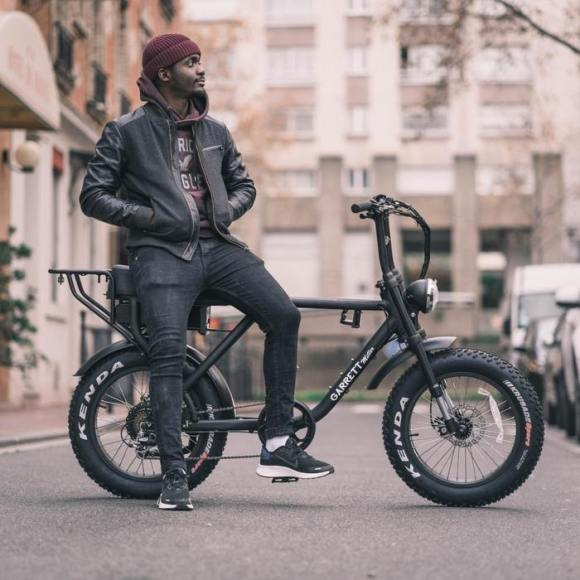 FATBIKE électrique vélo GARRETT MILLER X photo 7