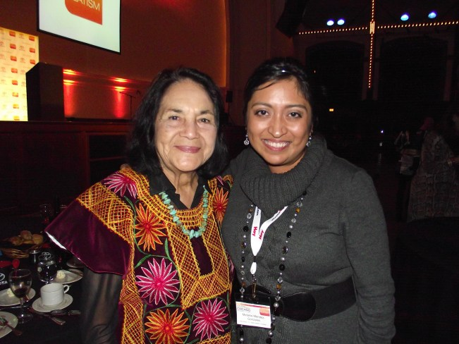 Dolores Huerta Latism Conference in Chicago 2011 QueMeansWhat.com