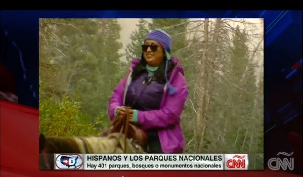Hispanos y Los Parques Nacionales on CNN QueMeansWhat
