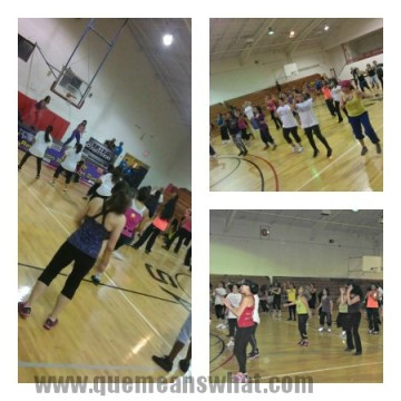 Zumbathon Collage