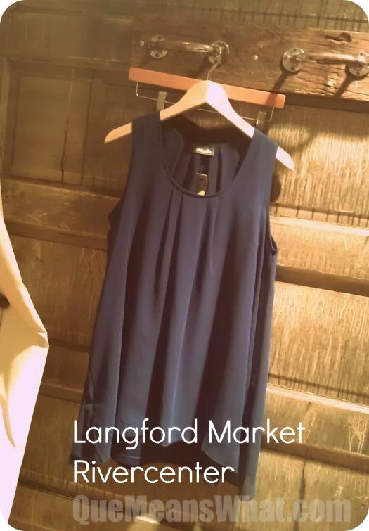 Blue Dress Langord Market
