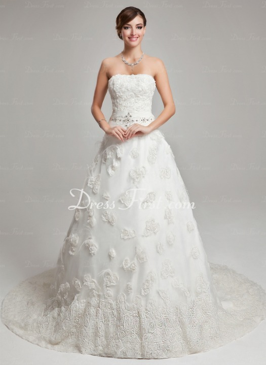 Online Wedding Dress Shopping with DressFirst.com #DressFirst