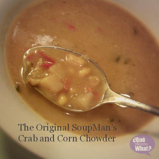 Original SoupMan Crab Corn Chowder
