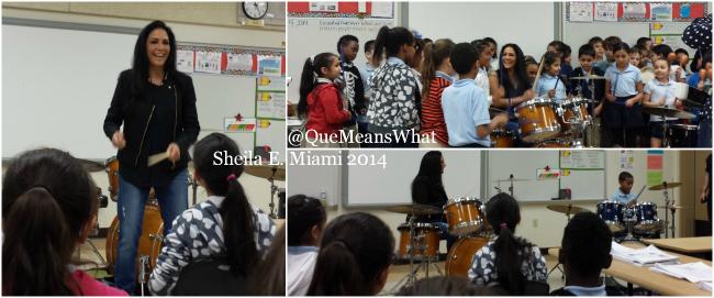 Sheila E. Music Lesson