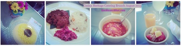 Cocina Heritage Brunch on QueMeansWhat