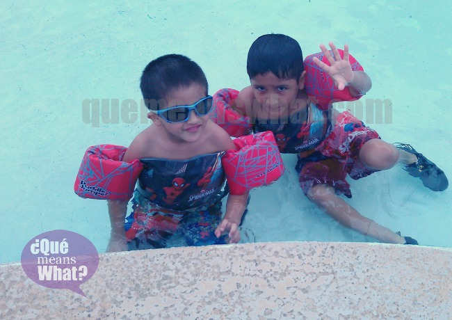 Summer Time In Pool QueMeansWhat.com