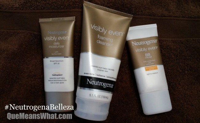How to Care For Your Skin with Neutrogena Visibly Even Collection