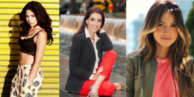 Jasmine Villegas (@JasmineVillegas);   Kika Rocha (@KikaRochaModa); Julie Sarinana (@SincerelyJules)