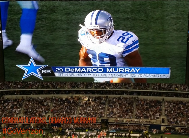 DeMarco Murray Breaks Record