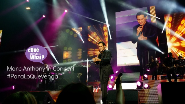 Marc Anthony Concert Concert