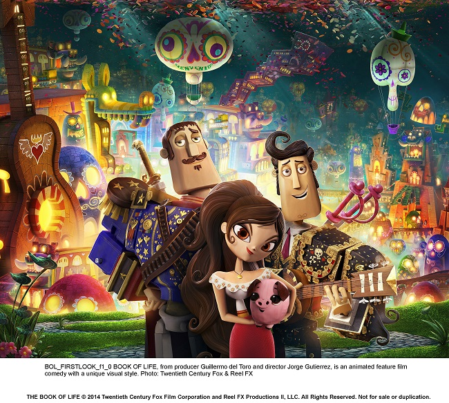 What's Up With Mexicans and Death? ~ A Review of Book of Life Movie