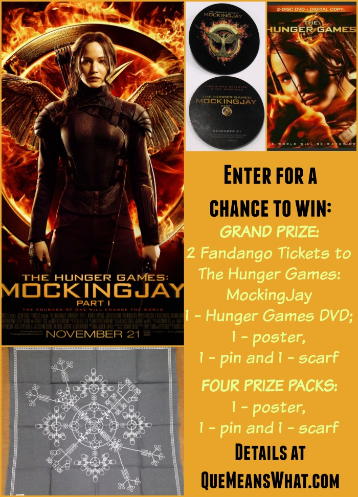 The Hunger Games MockingJay Prize Pack Giveaway