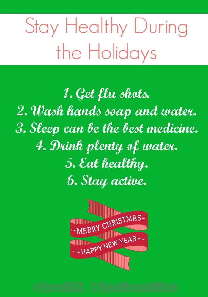 Stay Healthy During the Holidays
