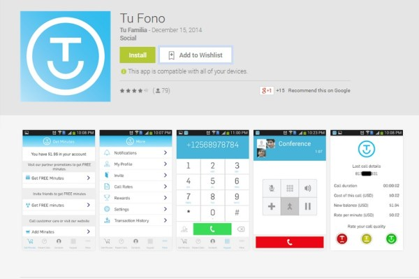 Tu Fono App for Android QueMeansWhat