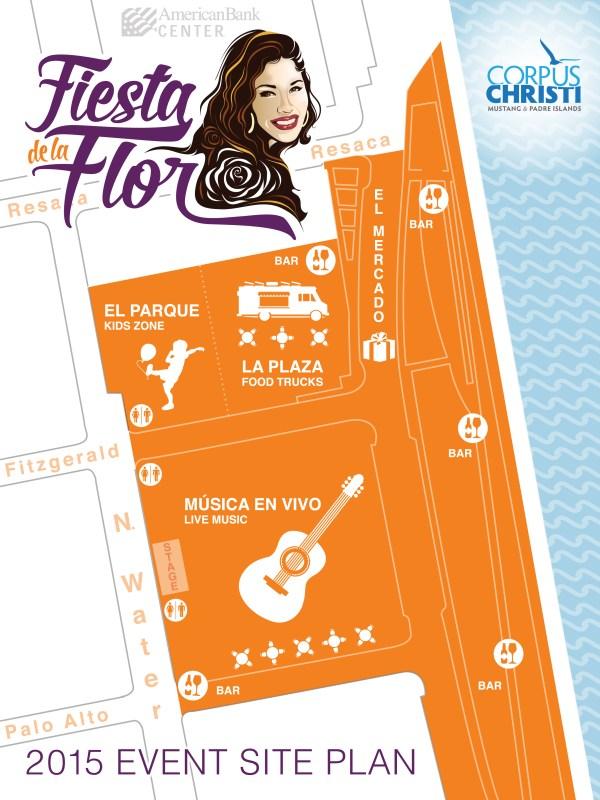 Fiesta de la Flor Site Map