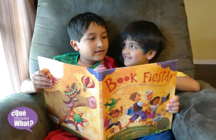 Celebrate Día del Niño with a Book Fiesta QueMeansWhat.com