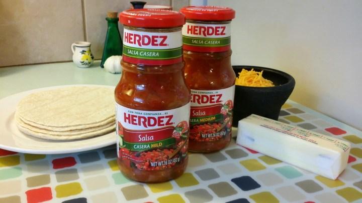 Easy Mexican Recipe Herdez Salsa Casera Marias Tortillas