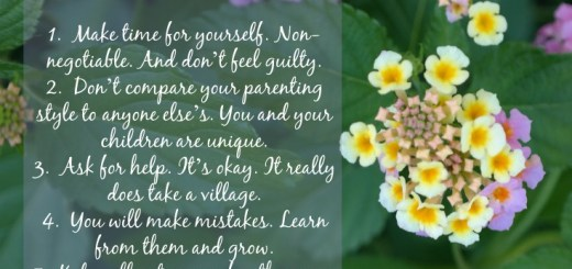 Lessons Learned in Motherhood QueMeansWhat.com #doingood