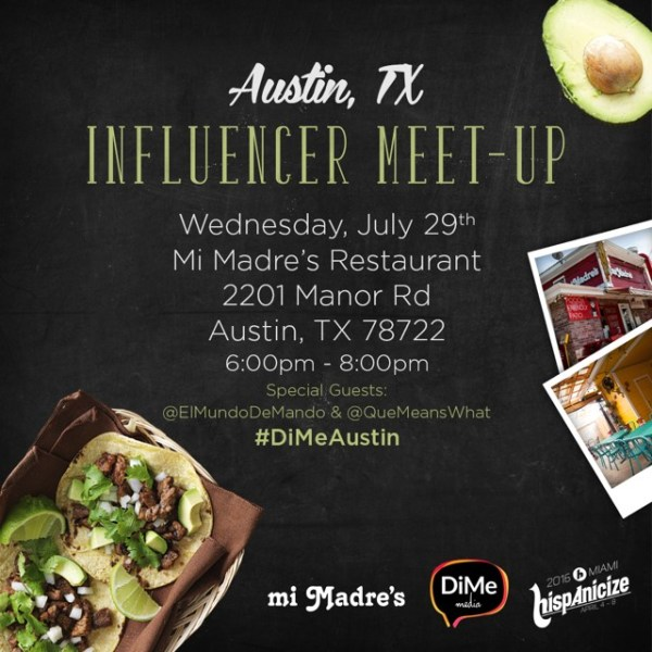 Influencer Meet-up #DiMeAustin