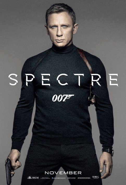 SPECTRE Movie Poster