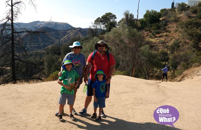 Hiking Hollywood Hills - QueMeansWhat.com